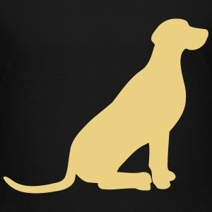 Weimaraner vector Shirts - Teenage Premium T-Shirt