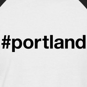 PORTLAND - T-shirt baseball manches courtes Homme