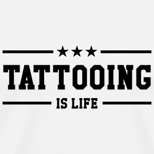tatovøren / tatovering / Tattoo / Tattooist T-skjorter - Premium T-skjorte for menn
