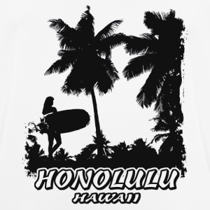 Honolulu - Hawaii - Beach - Surfing - Surfer T-Shirts - Männer T-Shirt atmungsaktiv