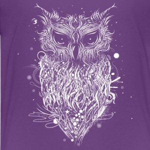 Mysterious owl Shirts - Teenage Premium T-Shirt