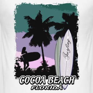 Florida - Beach - Surfing - Surfer T-Shirts - Männer Slim Fit T-Shirt