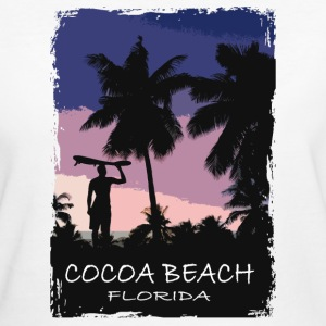 Florida - Beach - Surfing - Surfer T-Shirts - Frauen Bio-T-Shirt