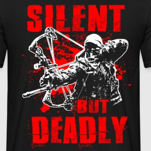 Silent But Deadly Bowhunting Bogenjagd Compound Bo T-Shirts - Männer T-Shirt