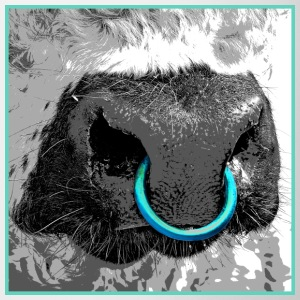 Galloway Bull / Nose ring Mugs & Drinkware - Mug