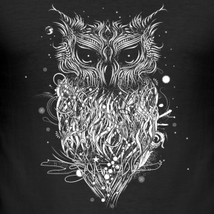 Mysterious owl T-Shirts - Men's Slim Fit T-Shirt