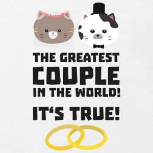 The greatest Couple in the World S76su Shirts - Kids' Organic T-shirt