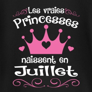 Juillet - Princess - Anniversaire - 1 Baby Long Sleeve Shirts - Baby Long Sleeve T-Shirt