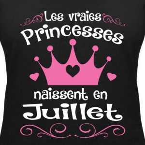 Juillet - Princess - Anniversaire - 1 T-Shirts - Women's V-Neck T-Shirt