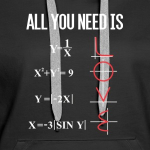 ALL YOU NEED IS LOVE Pullover & Hoodies - Frauen Premium Hoodie