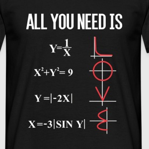 ALL YOU NEED IS LOVE T-Shirts - Männer T-Shirt