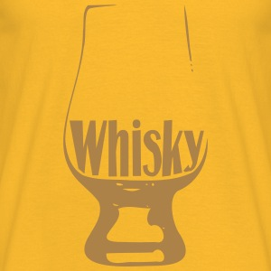 Whisky glass - T-shirt Homme