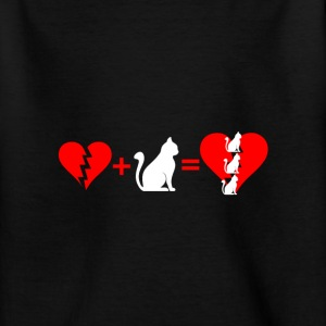 Katzen T-Shirts - Teenager T-Shirt