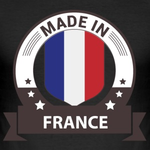 Made in France - Frankreich T-Shirts - Männer Slim Fit T-Shirt