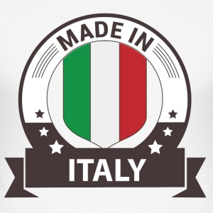 Made in Italy - Italien T-Shirts - Männer Slim Fit T-Shirt