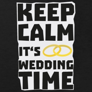 wedding time keep calm Sw8cz Shirts - Kids' Organic T-shirt