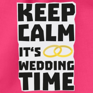 wedding time keep calm Sw8cz Bags & Backpacks - Drawstring Bag