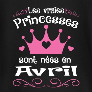 Avril - Princess - Anniversaire - 2 Tee shirts manches longues Bébés - T-shirt manches longues Bébé