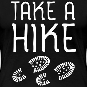 Take A Hike T-Shirts - Frauen Premium T-Shirt