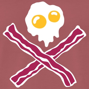 Eggs'n Bacon - Premium T-skjorte for menn
