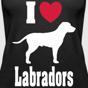 Love_Labradors Tops - Frauen Premium Tank Top