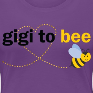 Gigi To Bee T-Shirts - Women's Premium T-Shirt