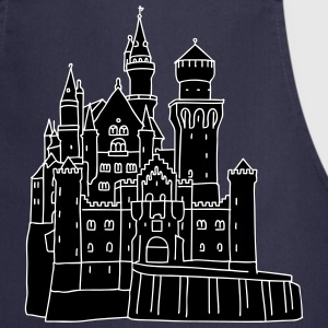 Neuschwanstein Castle 2  Aprons - Cooking Apron