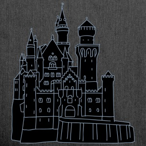 Neuschwanstein Castle 2 Bags & Backpacks - Shoulder Bag made from recycled material