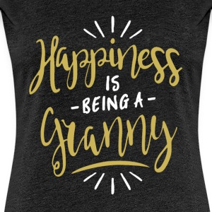 Happy Granny Shirt - Women's Premium T-Shirt