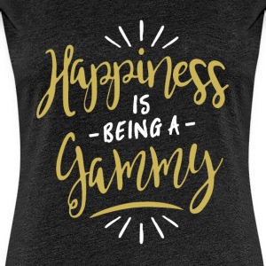 Happy Gammy Shirt - Women's Premium T-Shirt