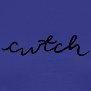 cwtch, cuddle in Welsh - Men's Premium T-Shirt