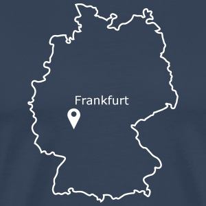 place to be: Frankfurt - Männer Premium T-Shirt