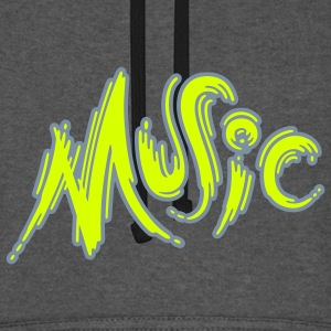 Music - Sweat-shirt baseball unisexe