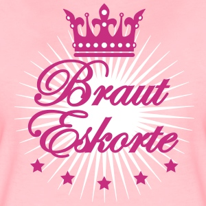 Braut Eskorte JGA Freundinnen Frauen Party T-shirt - Frauen Premium T-Shirt