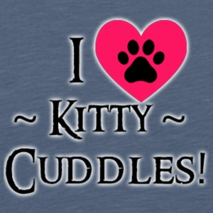 I LOVE Kitty Cuddles - Men's Premium T-Shirt