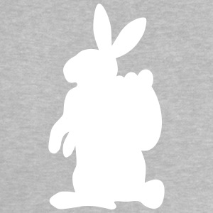 Osterhase mit Korb Silhouette Baby T-Shirts - Baby T-Shirt
