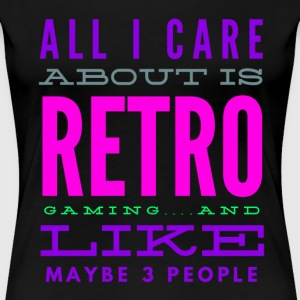 Retro Gaming Joke Design T-Shirts - Women's Premium T-Shirt