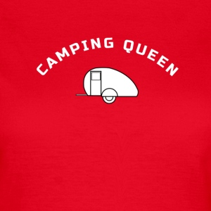 Camping-Queen T-Shirts - Frauen T-Shirt