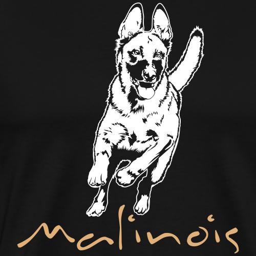Malinois_auf dunklen Shirts