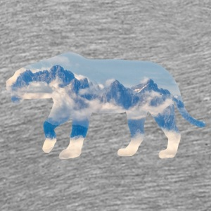 Mountain Lion - Männer Premium T-Shirt