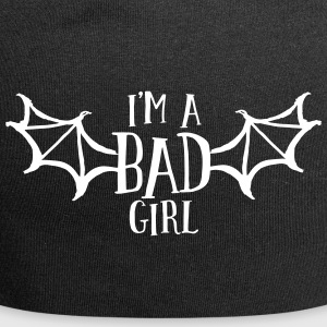 im a bad girl i Caps & Hats - Jersey Beanie