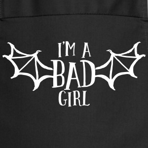 im a bad girl i  Aprons - Cooking Apron