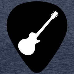 guitar pick les paul - Mannen Premium T-shirt