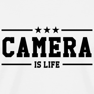 Cameraman / Camera / cameravrouw / video T-shirts - Mannen Premium T-shirt