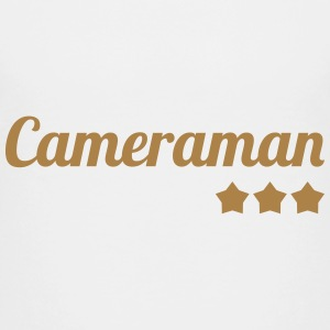 Cameraman / Camera / cameravrouw / video Shirts - Kinderen Premium T-shirt
