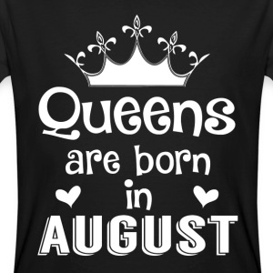 August - Queen - Birthday - 1 T-shirts - Ekologisk T-shirt herr