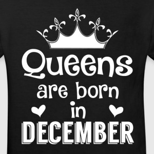 December - Queen - Birthday - 1 Shirts - Kids' Organic T-shirt