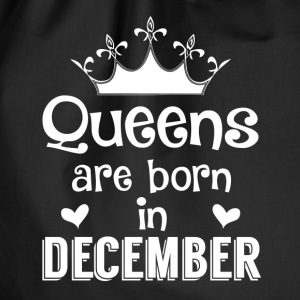 December - Queen - Birthday - 1 Tassen & rugzakken - Gymtas
