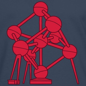 Atomium Brussels 2 Long sleeve shirts - Men's Premium Longsleeve Shirt