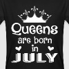 July - Queen - Birthday - 1 Camisetas - Camiseta ecológica hombre